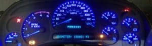 2003-2006 GM Cluster Lighting Customization