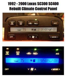 Lexus SC300 & SC400 Climate Controls Available Here