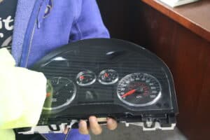 Cleaning an Instrument Cluster
