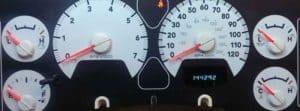 2006 Dodge Ram Speedometer Tachometer Tach Repair Service