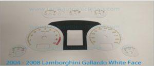 How to install a 2004-2008 Lamborghini Gallardo Tanin Auto Electronix Speedometer Gauge Face Overlay