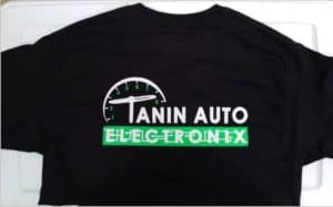 New Tanin Auto Electronix Shirts Available!