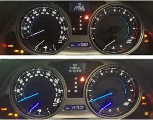 Lexus IS250 / IS350 Cluster Repair~Before and After