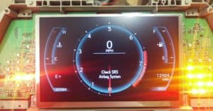The Lexus IS250 Fsport LCD Screen Repair