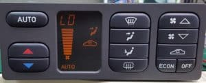 Saab 9-3 Climate Control LCD Screen Repair
