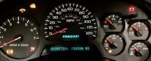 Chevy Trailblazer Fully Rebuilt Instrument Cluster