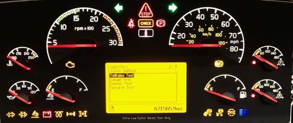 Problems With Volvo Vnl Semi Truck Instrument Clusters How