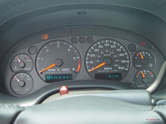 2004 silverado gauge cluster replacement