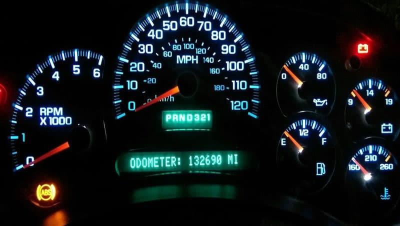TAE 2003 - 2006 GMC, Chevrolet Truck Instrument Cluster Needles