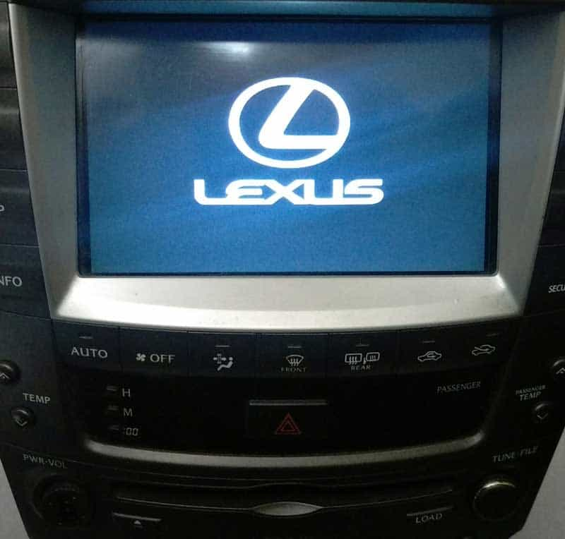 2006 2009 Lexus Is250 Is350 Amp Is F Navigation Touch