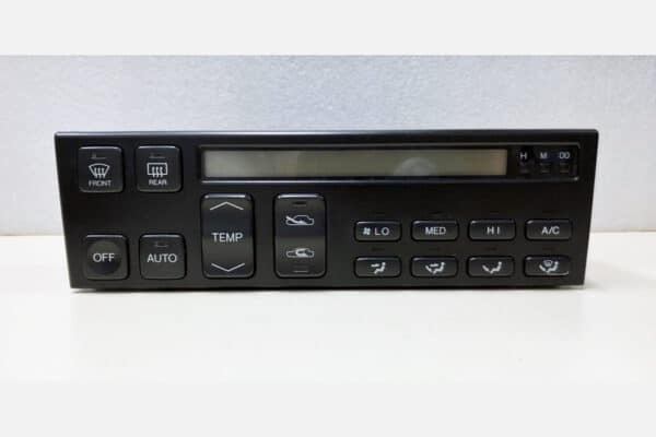 front view of a 1990-1992 Lexus LS400 Climate Control