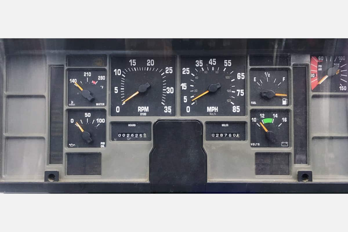 1992 1993 1994 94 INTERNATIONAL Speedometer Instrument Cluster REPAIR SERVICE