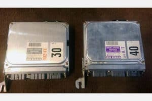 (2) 1992-1996 Lexus SC300 & SC400 engine control units