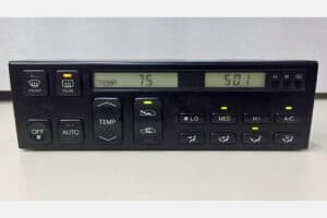 front view of a 1993-1994 Lexus LS400 Climate Control