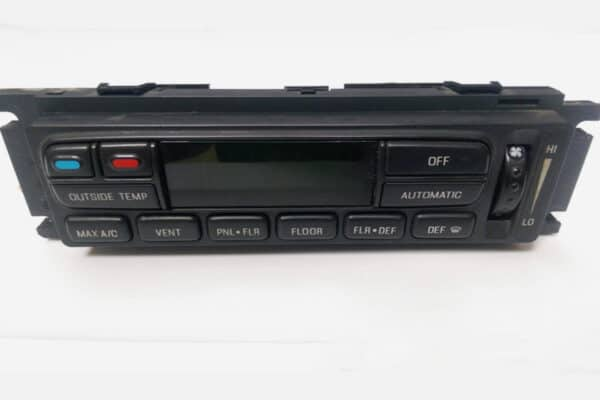 front view of a 1993-2007 Ford Digital Climate Control