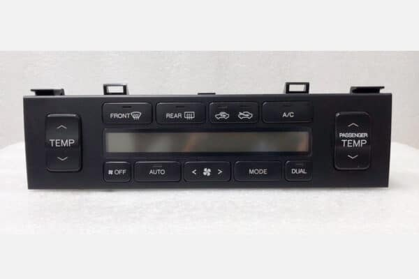 front view of a 1995-1997 Lexus LS400 Climate Control
