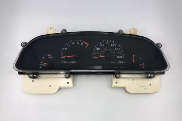 front view of a 1996 Impala SS Instrument Cluster