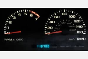 1996 Impala SS Instrument Cluster after repair