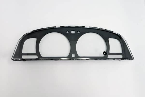 front view of a 1997-2004 Toyota Tacoma Instrument Cluster Lens with Tachometer