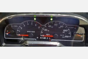 front view of a 1999-2003 Ford Windstar Instrument Cluster