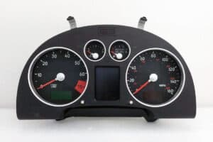 front view of a 2000-2006 Audi TT Instrument Cluster