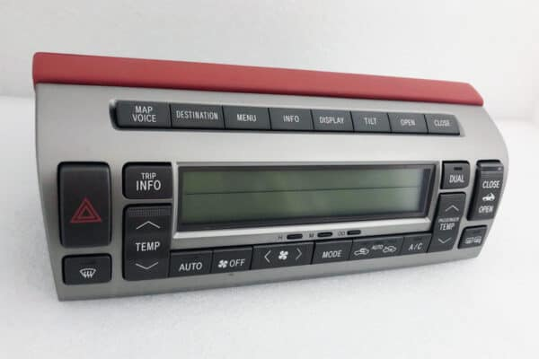 side view of a 2002-2009 Lexus SC430 Climate Control