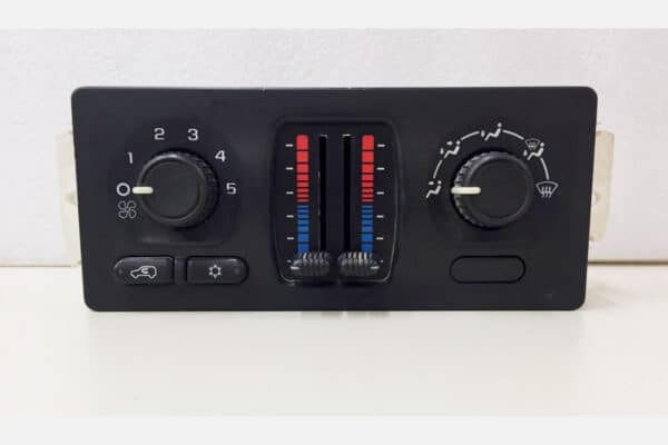 front view of a 2003-2006 GMC Chevy Manual Climate Control