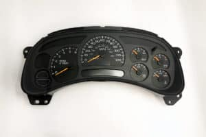 front view of a 2003-2006 GMC, Chevy Truck Instrument Cluster