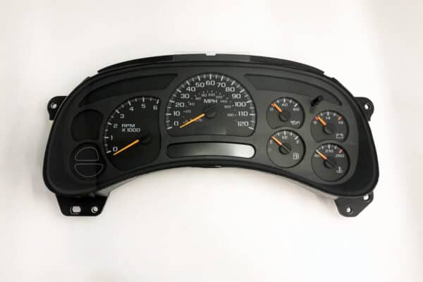 2003 chevy tahoe instrument panel problems