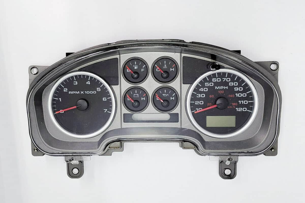 2004 - 2008 Ford Truck F150 Instrument Cluster Repair Service