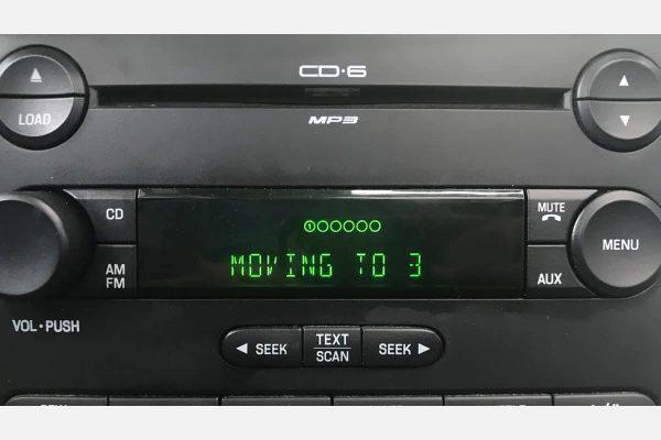 2004-2010 Ford, Mercury Radio Display powered on