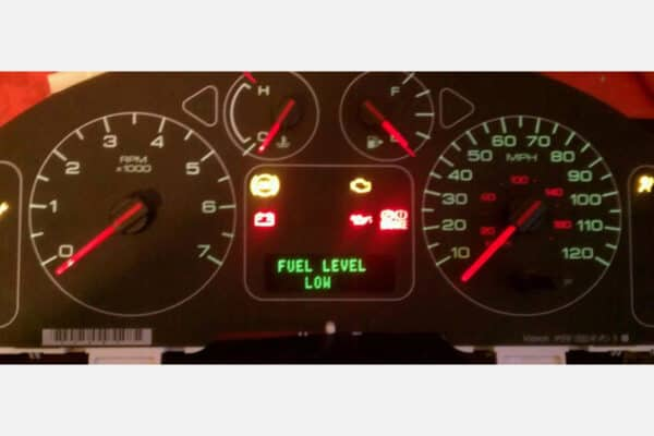 powered on 2005-2007 Ford Freestar Instrument Cluster