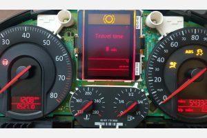 Volkswagen Jetta MFD LCD Cluster View