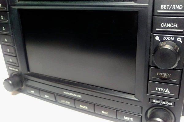 close up view of a 2005-2009 Chrysler REC Navigation Joystick