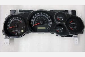 front view of a 2007-2013 Toyota Tundra Instrument Cluster