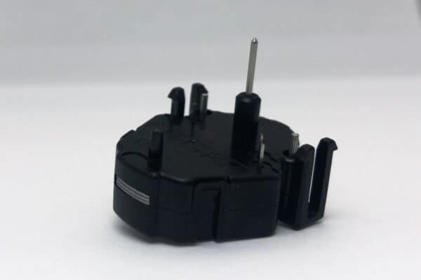side view of 2007-2014 GM Stepper Motor