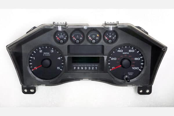 front view of a 2008-2015 Ford Truck Instrument Cluster