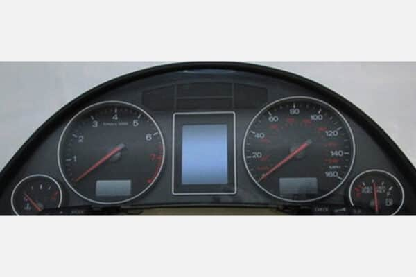 front view of a 2009-2012 Audi A4 Instrument Cluster