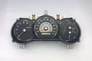 front view of a Toyota 4Runner Instrument Cluster