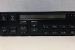 1990 - 1992 Lexus LS400 Climate Control - Front