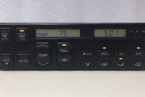 1993 - 1994 Lexus LS400 Climate Control - Front