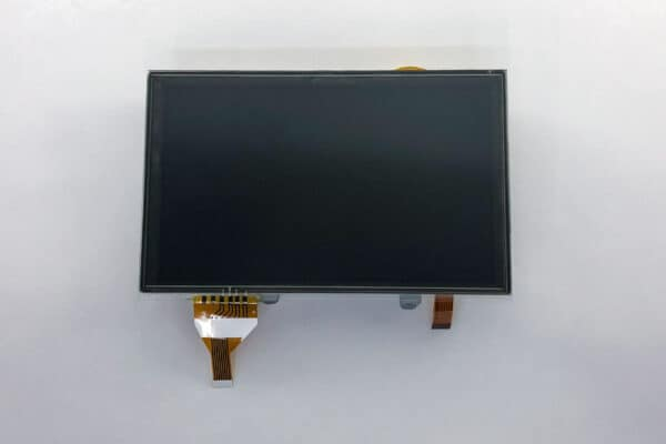 """front view of 6.75"""" Lexus ES350 & LS460 Full LCD Assembly"""