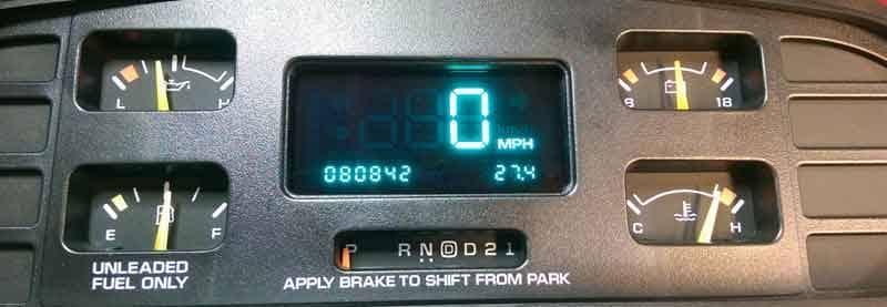 1994 1996 chevy caprice odometer speedometer repair 1994 1996 chevrolet caprice impala instrument cluster repair