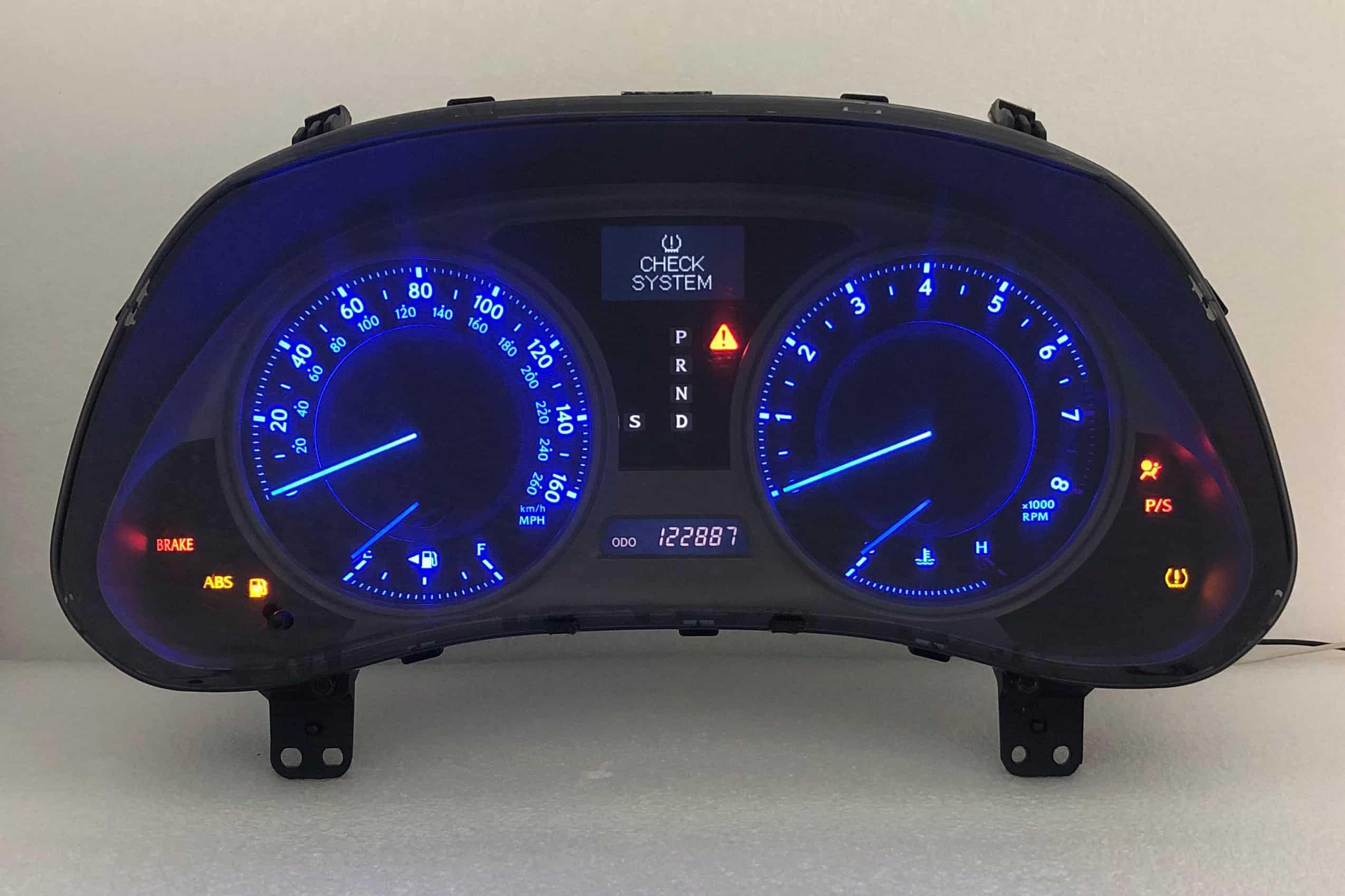 2006 - 2013 Lexus IS-F, IS250, IS350 Instrument Cluster Repair