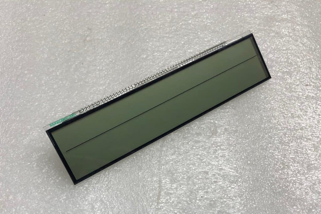front view of a 2002-2009 Lexus SC430 Climate LCD Screen