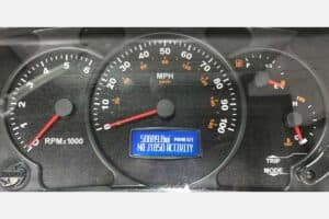 Actia, Workhorse Instrument Cluster powered on after LCD repair