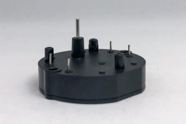 Side view of Workhorse Actia RV stepper motor