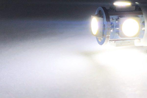 pure white TAE BA9S LED