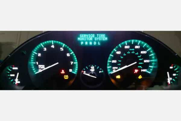 powered on 2008-2012 Buick Enclave Instrument Cluster