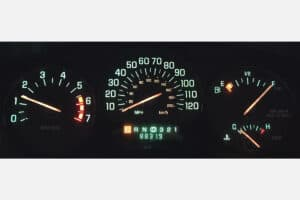 1997-2004 Buick Regal & Century Instrument Cluster powered on after repair